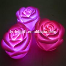 wedding festival decoration Romantic led flower red led rose
