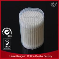 2015 best quality 100pcs/snap cap box paper stick daily cotton swab