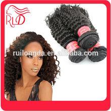 Economic useful malaysian kinky baby curl hair weave
