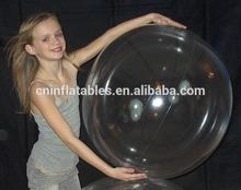 1 Color Crystal Clear Beach Ball