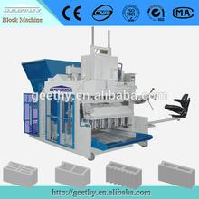 new building technology mobile block making machine price list QMY10-15 egg laying paver block making machine