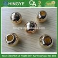 La forma redonda de oro de alto brillo de plástico de Color -- SP1412019
