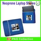 reversible custom neoprene 15.6 laptop sleeve 3mm thick