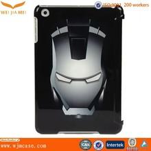 Hard customized case for ipad mini with shiny surface
