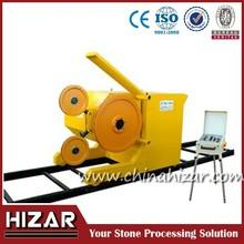 Single wire saw stone cutting machine/quarry stone cutter