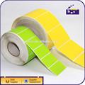 personalizado rollo de etiquetas de código de barras etiqueta adhesiva de color etiqueta de papel