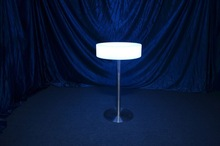 indoor battery operated led table lamp/portable laptop cushion tray/table with led light