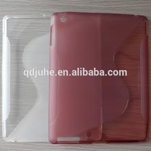 high quality soft silicon TPU case cover for ipad mini
