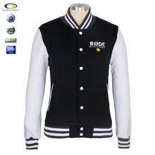 Customized winter zipper 100% cotton high quality black men stylish hoodie