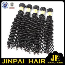 profonde vague de cheveux humains vierges prêtjp aucun processus chimique cambodgienne cheveux dominicaine produit