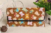 Funny bear cute wallet