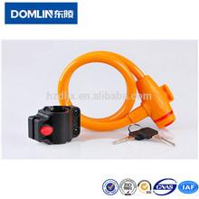 Fashion And Trendy Bicycle Folding Cable Lock / Bike Chain Locks