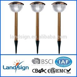 Cixi solar light ISO9001 manufacture made solar garden light for solar powered lighting