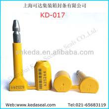 Security door lock, KD-017 Barcode Container seal