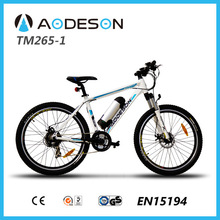 MTB electric bicycle sport style mountain bicycle TM265-1250w motor travel assistant
