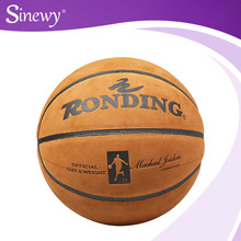2015 High Quality World cup PVC Laminated Basketball