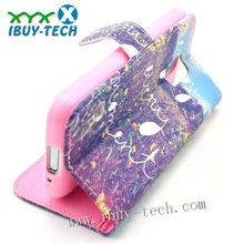 in stock flip case for samsung galaxy s4 mini, for samsung s3 wallet case