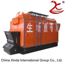 Wood pettle boiler equipment in good service