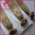Non transformés cheveux vierges sombre couleur fusion extension de cheveux meilleure vente forte de cheveux de kératine