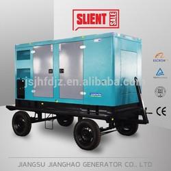 Easy power! 24kw mobile generators with cummins engine