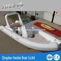 6.8m luxo pvcinflável motor de popa do barco de pesca( ce)