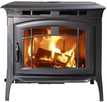 solid fuel cast iron fireplace or stove