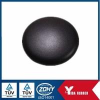 Custom rubber cap button, OEM rubber cap button, rubber cap button