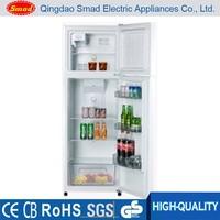 Commercial double door upright kitchen refrigerator