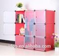 Big red garderobe guarda-roupa cubos mágicos guarda-roupa para pequenos espaços para venda fh-al0031-9