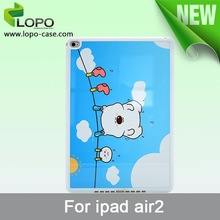 DIY printing silicon material sublimation case for ipad air 2