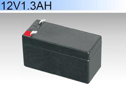 CE ROHS listed DC 12V 1.3AH emergency siren light usage lead acid battery