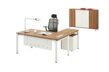 Wooden Veneer Executive Desk for Luxry Commercial Furniture