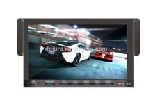 1 din detachable 3D OSD auto radio gps car dvd (ipod/radio/card reader) 1 din 7 inch car dvd gps