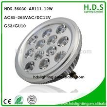 12w ar111 g53 dimmable led high power