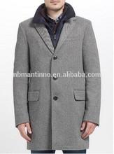 2014 Men Coat Formal Wear Offwhite color wool fabric