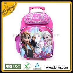 Nice-looking pink trolley kids backpack