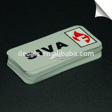 0.12mm water proof vinyl anti-radiation mobile phone sticker