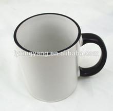 OEM LOGO cheap white sublimation mugs,wholesales ceramic cup white sublimation