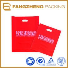 2014 high quality transparent printing plastic bag