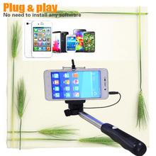 for cellphone Factory Cheap camera selfie monopod walking stick