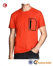 Quality breathable soft dry fit simple printing t-shirts for men