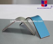 Alucoworld aluminum sandwich plate wall claddings