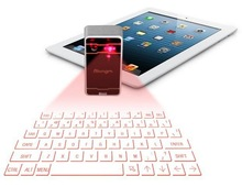 Fashion design portable bluetooth laser virtual keyboard