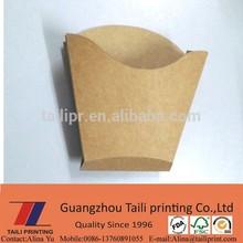 Hot ! Brown kraft paper French fries box / fries packing box *FB20141231-7