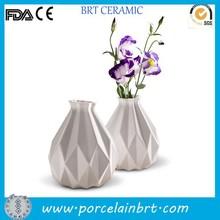 Gift unique design party home decor white Vase Ceramic