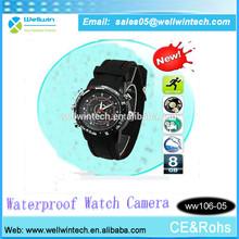 4GB/8GB waterproof digital watch camera