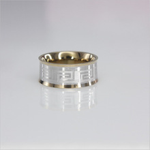Yiwu Aceon stainless steel comfort fit inside plated jewelry ring