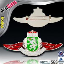 factory supply cheap masonic logo badge leather keyring