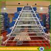 industrial chicken breeding house bird equipment