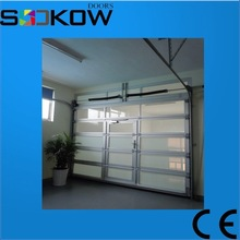 china suppliers glass panel garage doors/garage door safety aluminum glass garage door/used glass overhead door